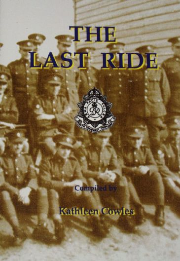 The Last Ride, by Kathleen Cowles